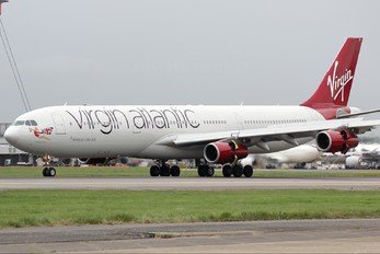G-VAIR - Virgin Atlantic Airbus A340-300