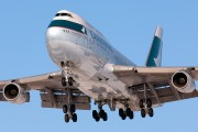B-HOS - Cathay Pacific Boeing 747-400 aircraft