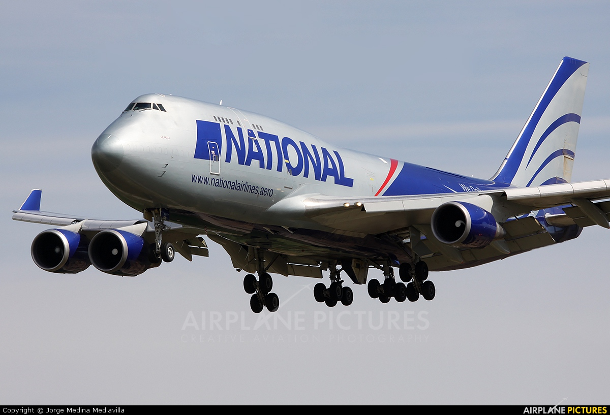 National Airlines N919CA aircraft at Barcelona - El Prat
