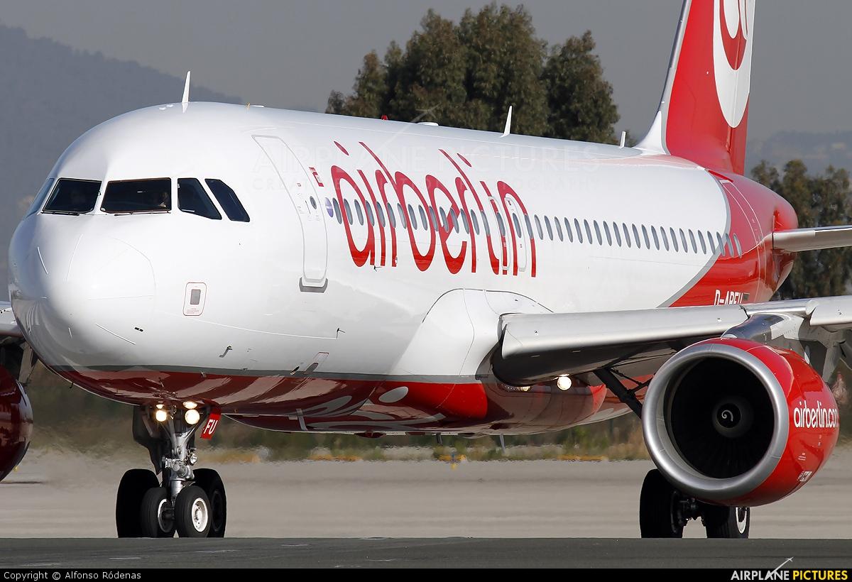 Air Berlin D-ABFU aircraft at Barcelona - El Prat