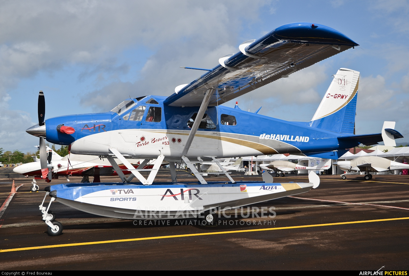 Private C-GPMY aircraft at Martinique - Aimé Césaire