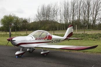 G-CEME - Private Evektor-Aerotechnik EV-97 Eurostar