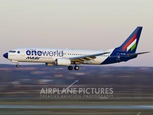 HA-LOU - Malev Boeing 737-800