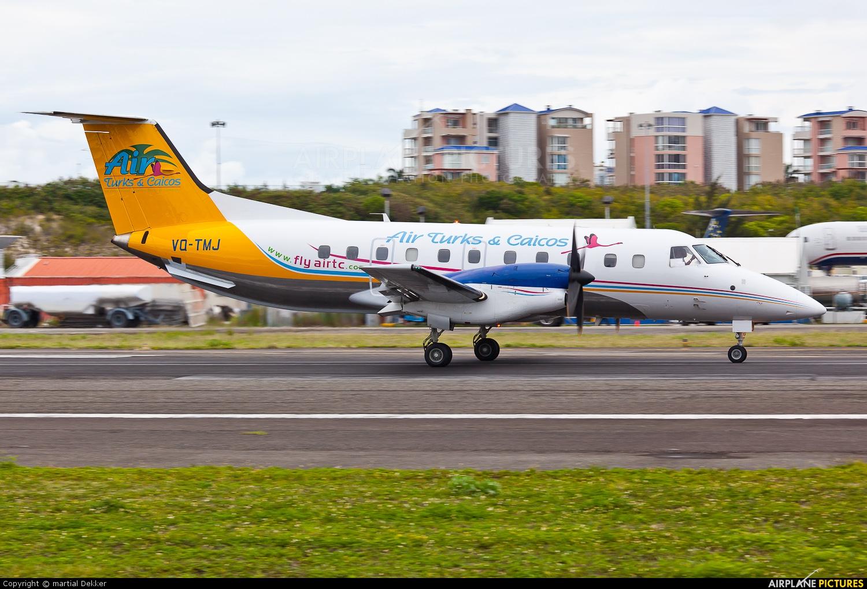 Air Turks & Caicos VQ-TMJ aircraft at Sint Maarten - Princess Juliana Intl