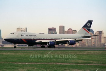 G-BDXE - British Airways Boeing 747-200