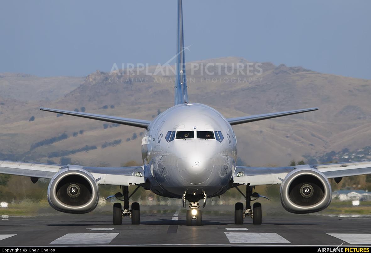 Air New Zealand ZK-NGD aircraft at Christchurch Intl