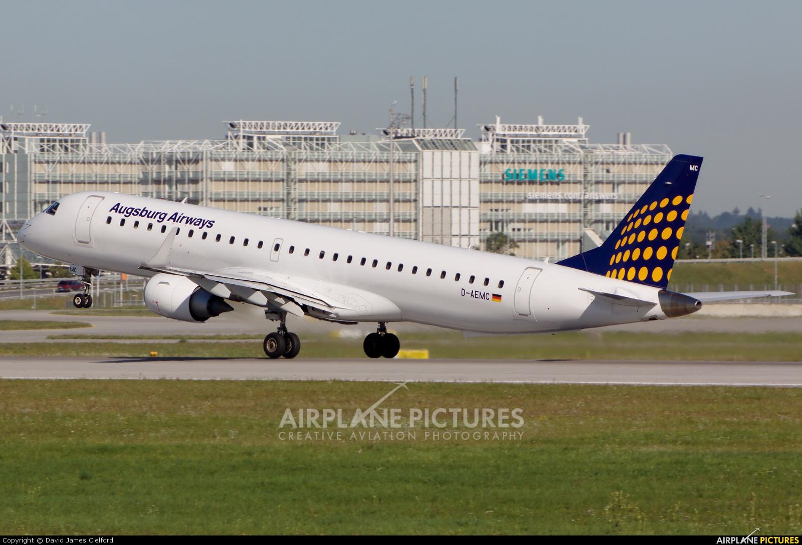 Augsburg Airways - Lufthansa Regional D-AEMC aircraft at Munich