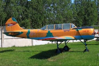 04 - Hungary - Air Force Yakovlev Yak-52