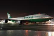 B-16411 - Eva Air Boeing 747-400 aircraft
