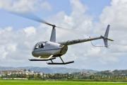 F-OKCL - Heliblue Robinson R44 Clipper aircraft
