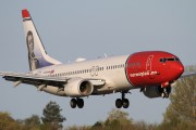 LN-NOE - Norwegian Air Shuttle Boeing 737-800 aircraft