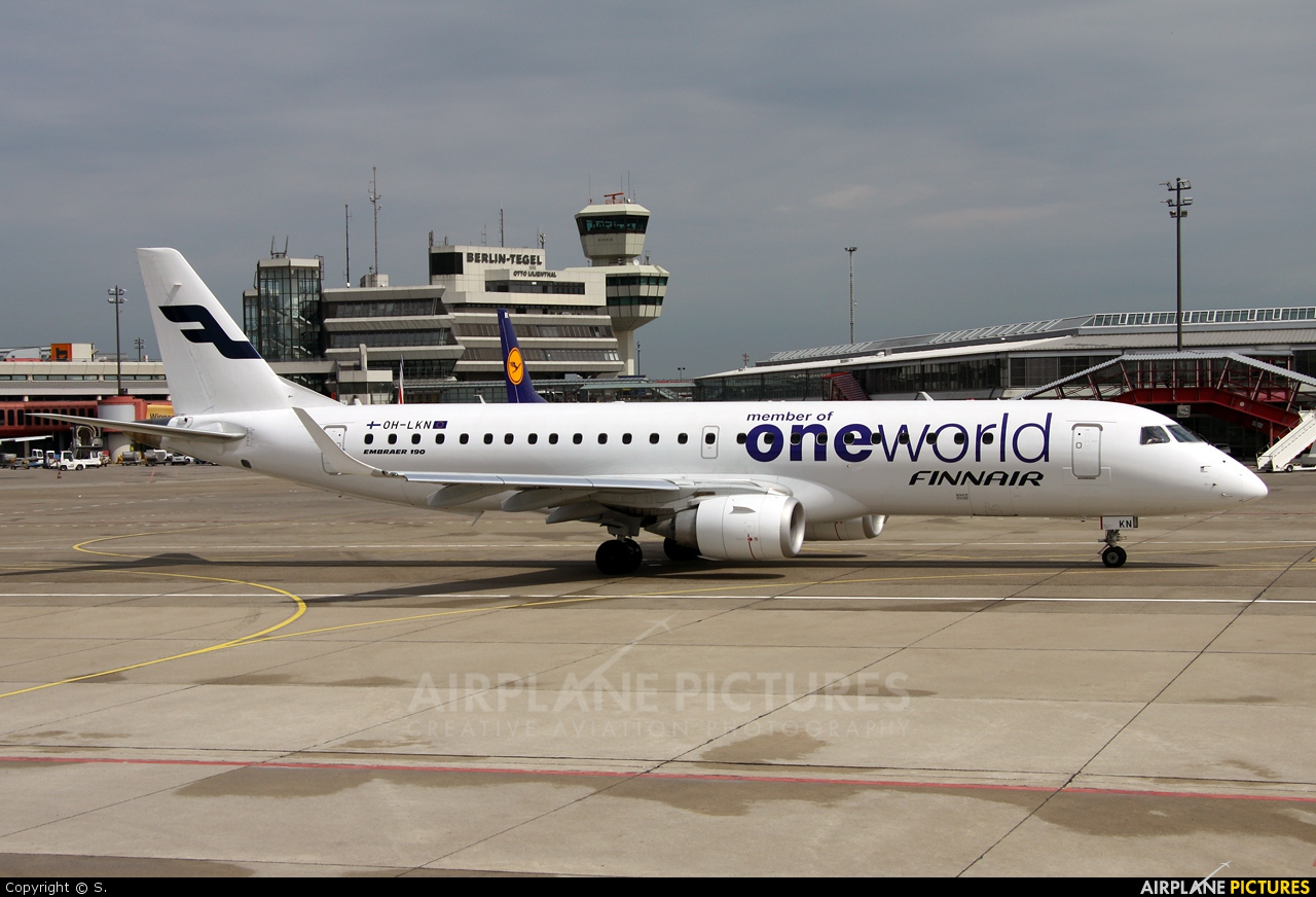 Finnair OH-LKN aircraft at Berlin - Tegel