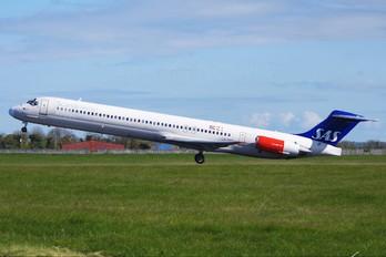 LN-RMO - SAS - Scandinavian Airlines McDonnell Douglas MD-81