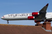G-VEIL - Virgin Atlantic Airbus A340-600 aircraft