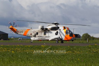 071 - Norway - Royal Norwegian Air Force Westland Sea King Mk.43B