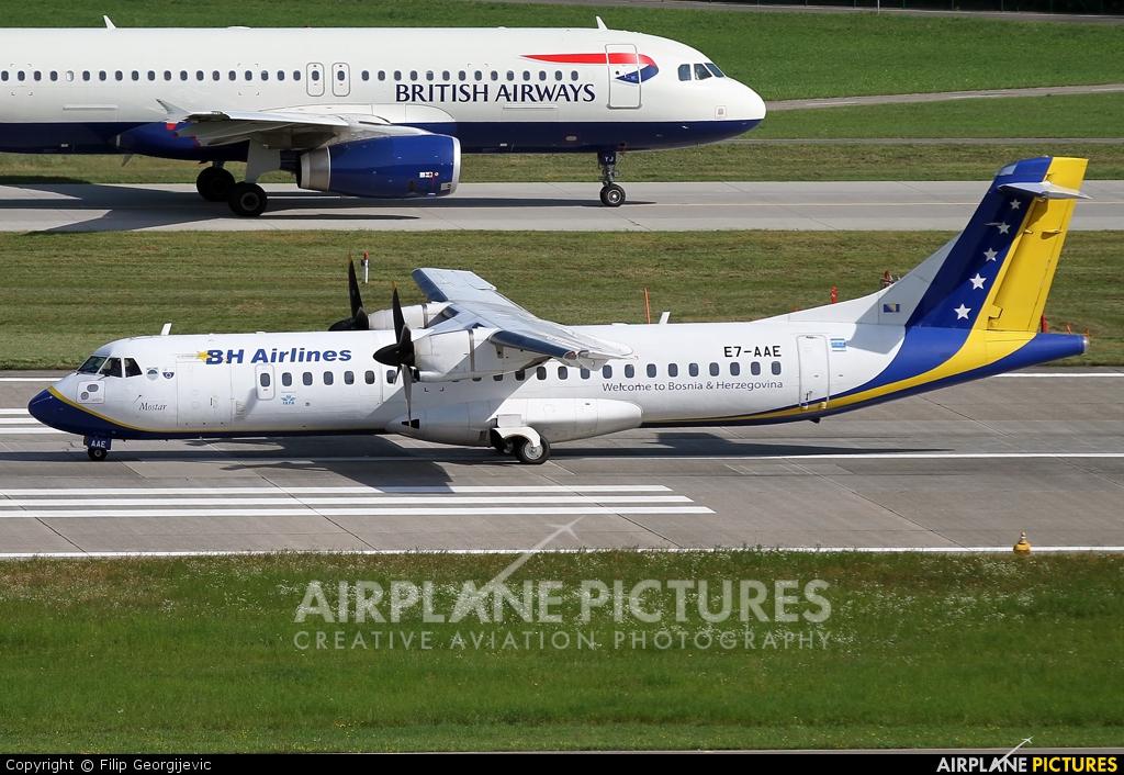 Air Bosnia - BH Airlines E7-AAE aircraft at Zurich