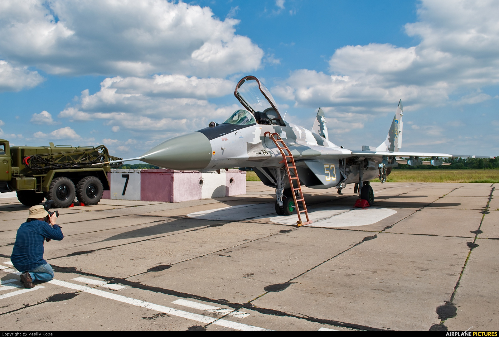 Ukraine - Air Force 53 aircraft at Vasilkov