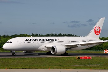 JA822J - JAL - Japan Airlines Boeing 787-8 Dreamliner