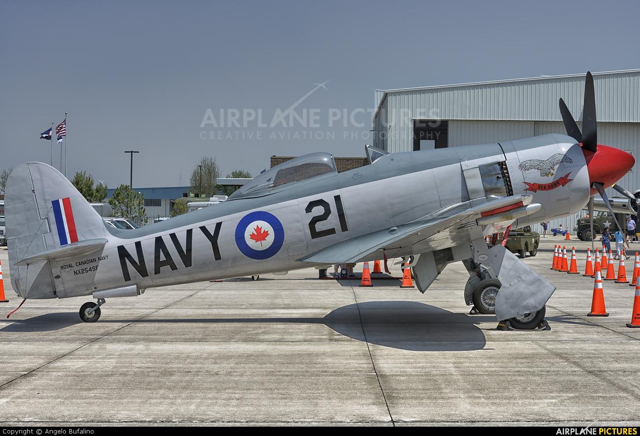 Private NX254SF aircraft at Centennial Field