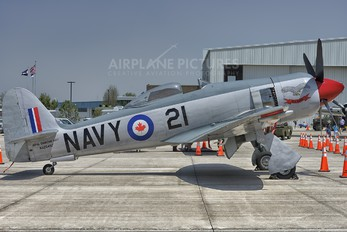 NX254SF - Private Hawker Sea Fury FB.10