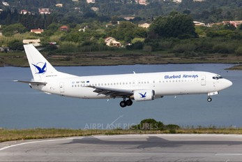 SX-TZE - Bluebird Airways Boeing 737-400