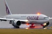 A7-BFC - Qatar Airways Cargo Boeing 777F aircraft