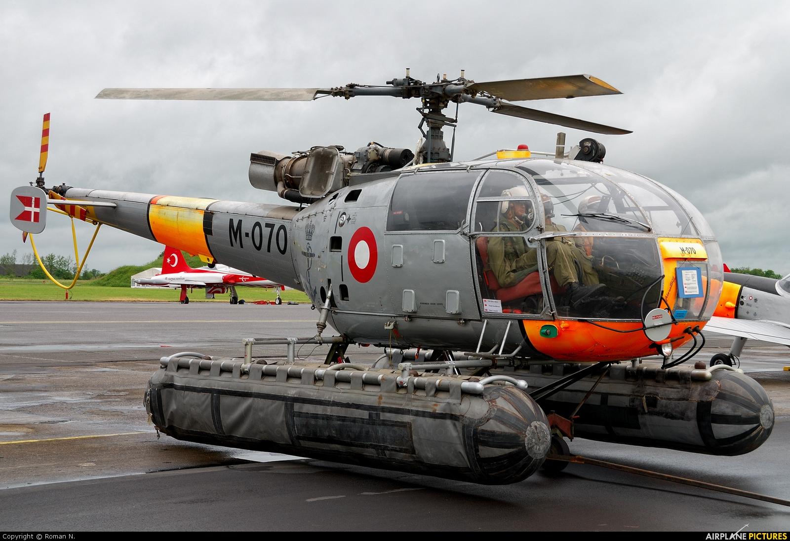 Denmark - Navy M-070 aircraft at Aalborg