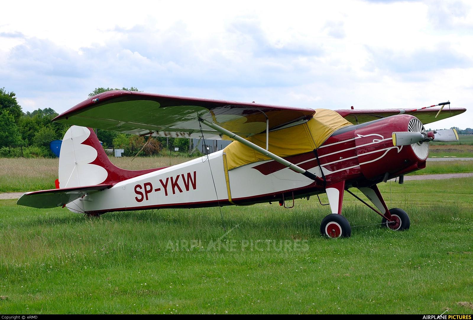 Aeroklub Orląt SP-YKW aircraft at Radom - Piastów
