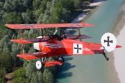 I-LYNC - Private Fokker DR.1 Triplane (replica) aircraft
