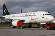 Avianca's first aircraft in Star Alliance colour scheme title=
