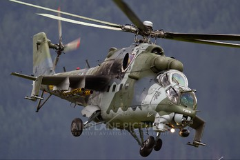 7360 - Czech - Air Force Mil Mi-35