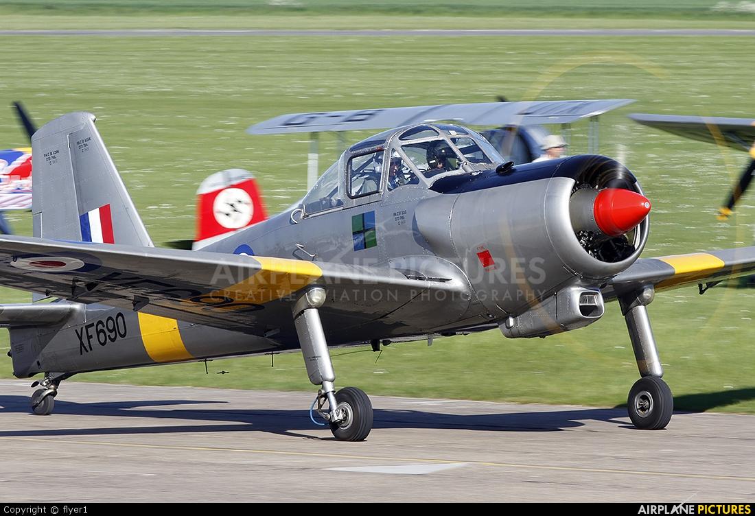Private G-MOOS aircraft at Duxford