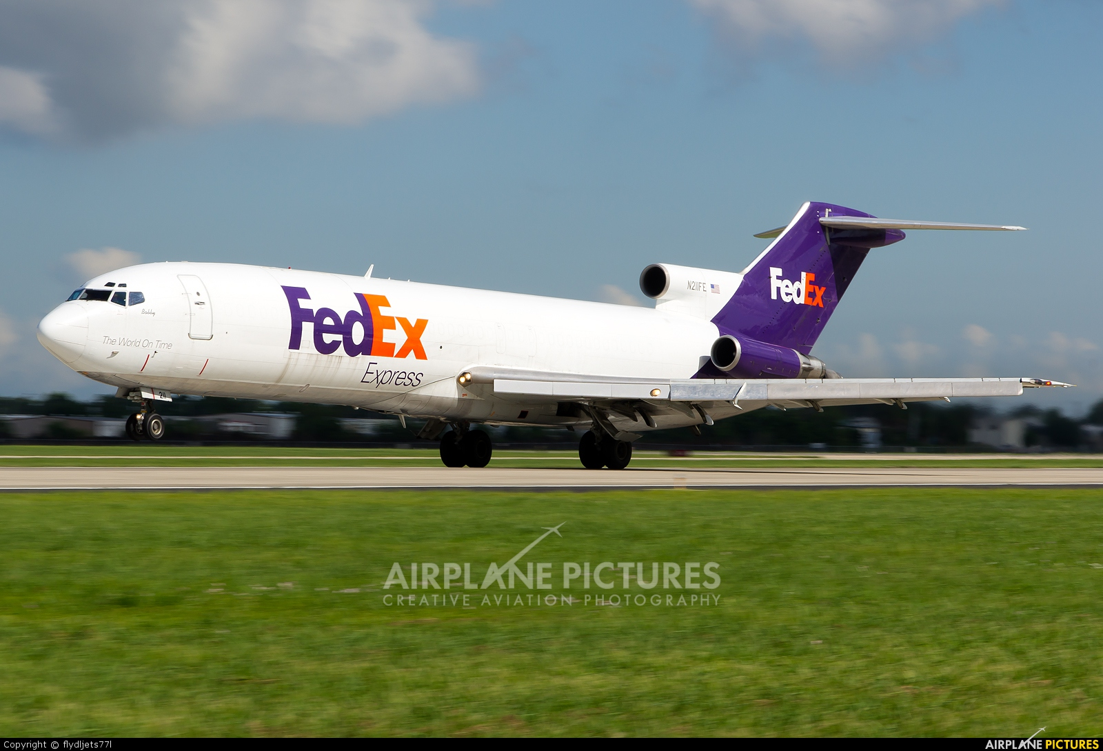 FedEx Federal Express N211FE aircraft at New Orleans - Louis Armstrong Intl