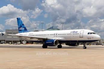 N629JB - JetBlue Airways Airbus A320