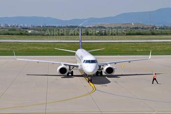 D-AEBF - Lufthansa Regional - CityLine Embraer ERJ-195 (190-200)