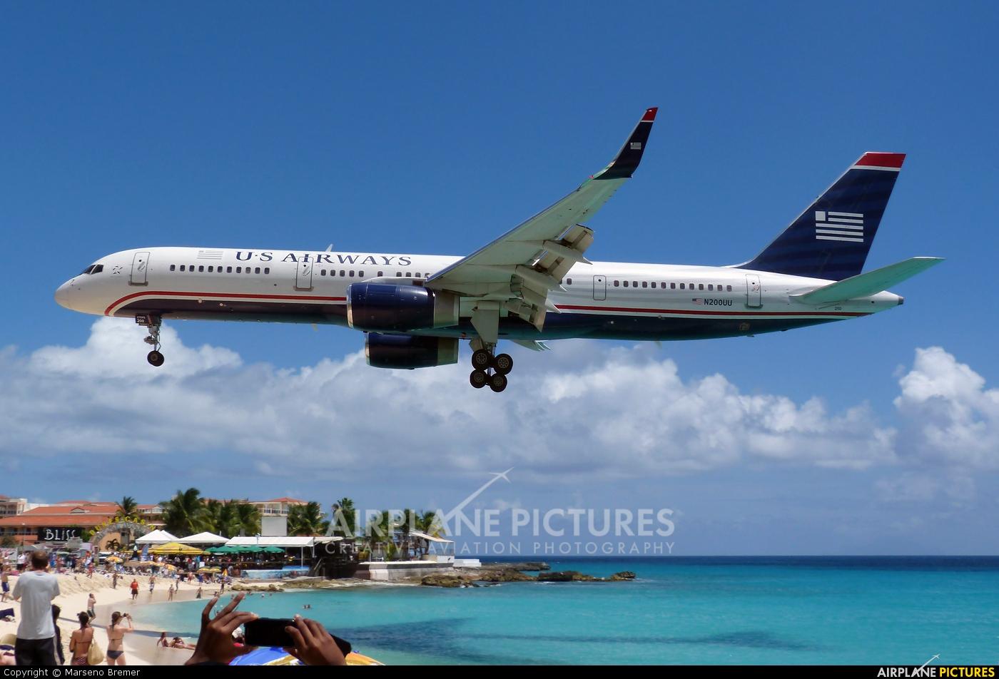 US Airways N200UU aircraft at Sint Maarten - Princess Juliana Intl