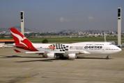VH-OEB - QANTAS Boeing 747-400 aircraft
