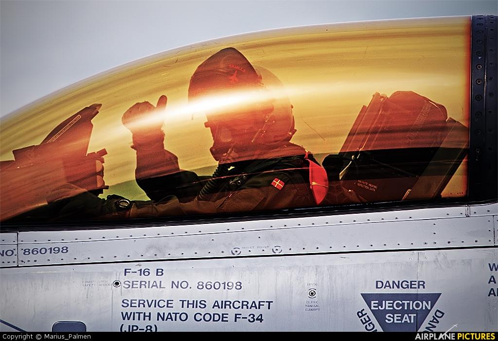 Denmark - Air Force ET-198 aircraft at Geilenkirchen