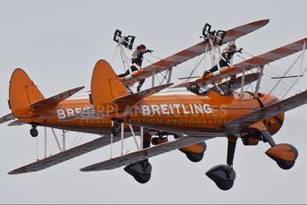 N74189 - Breitling Wingwalkers Boeing Stearman, Kaydet (all models)