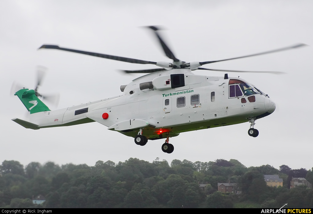 Turkmenistan - Government ZR337 aircraft at Yeovil