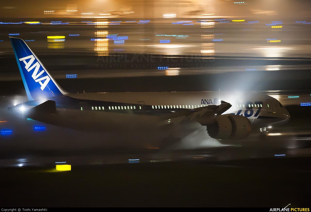 ANA - All Nippon Airways JA808A aircraft at Tokyo - Haneda Intl