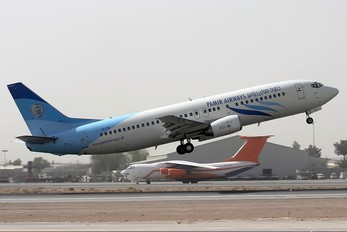 YA-PIB - Pamir Airways Boeing 737-400