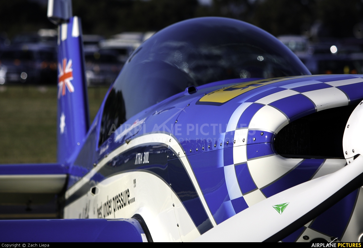 Attitude Aerobatics Flight School VH-TWA aircraft at Pearce AB, WA