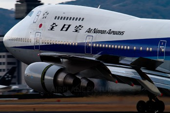 JA8175 - ANA - All Nippon Airways Boeing 747SR