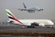 A6-EDQ - Emirates Airlines Airbus A380 aircraft