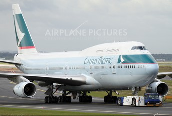 B-HUD - Cathay Pacific Boeing 747-400