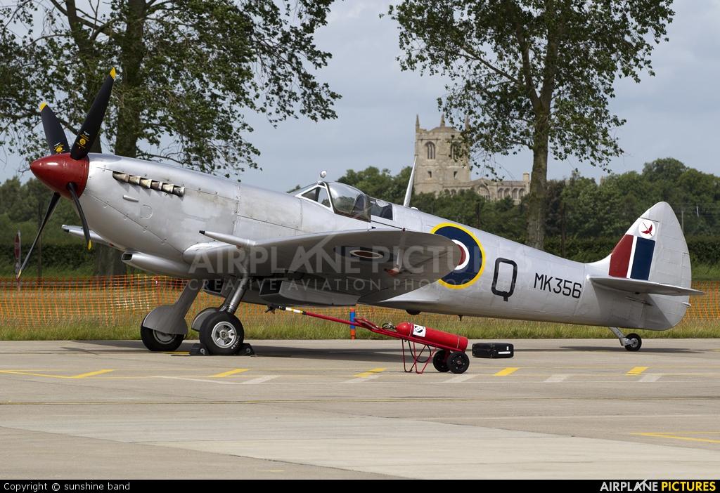 "Royal Air Force ""Battle of Britain Memorial Flight&quot MK356 aircraft at Coningsby"