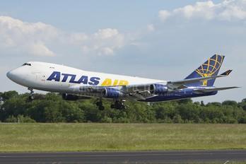 N496MC - Atlas Air Boeing 747-400F, ERF