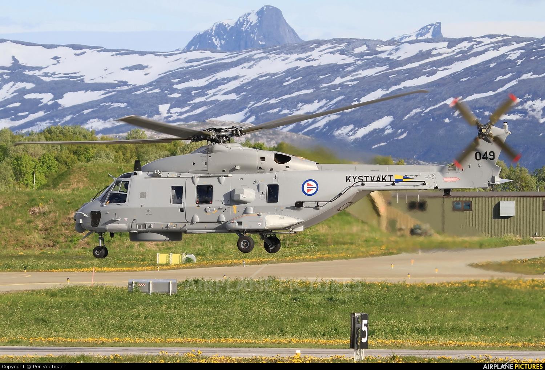 Norway - Coast Guard 049 aircraft at Bodø