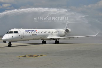 F-HMLH - Air France - Brit Air Canadair CL-600 CRJ-1000